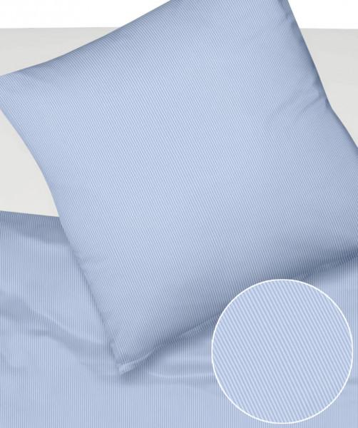 Bettwäsche Umbria Feinstreifen 2 mm Mischgewebe