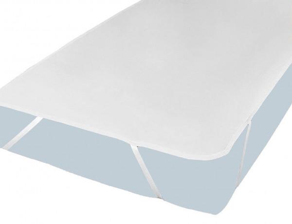 PFLEGE-POINT® Matratzenauflage Molton PU light