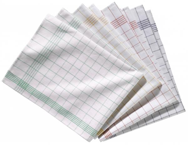 Geschirrtuch Baumwolle Deluxe 60 x 80 cm
