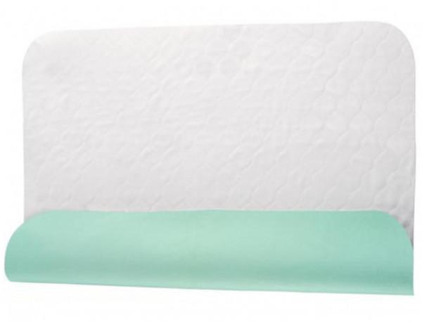 PFLEGE-POINT® Inkontinenz-Mehrwegunterlage Betteinlage grün 75 x 85 cm