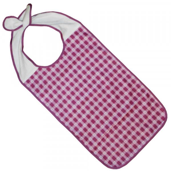 Ess-Schürze PU bedruckt mit Steckverschluss